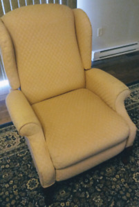 Matching pair-Wingback & reclining also