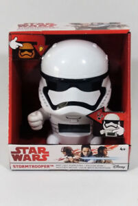 Star Wars Last Jedi Stormtrooper Kids Night Light Alarm Clock