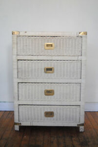 Antique Wicker Dresser