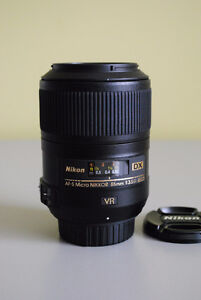 Nikon DX AF-S Micro Nikkor 85mm 1:3.5G ED VR Lens