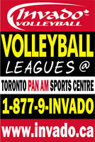 Invado Volleyball Leagues at The Toronto Pan Am Sports Centre!