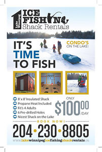 Ice fishing ice shack buy or sell fishing camping for Best fishing times for today