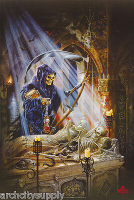 POSTER: FANTASY: GRIM REAPER GETTING NEW BODY -  FREE SHIPPING ! #24-034  RP73 R