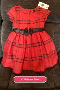 4T Brand New Christmas Dress