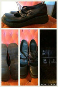 Dr. Marten Mary Janes - Size 8 (fit like a 9)