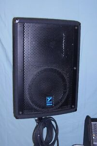Yorkville M1610 Pwr Mixer Package PA system  ELITE speakers Windsor Region Ontario image 4