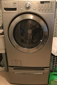 LG WASHER AND DRYER SET ONLY.  GREAT BUY!