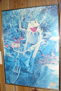 1970s Muppets movie poster