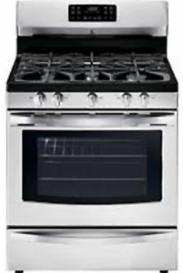 New Kenmore Stainless Steel Stove