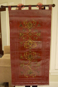 Red Leather Hanging Tapestry
