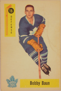1957-58 Toronto Maple Leafs Hockey Cards - 5 cards