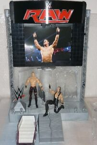WWE Titantron Entrance used w/box (Figures Not Included)