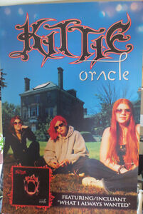 """KITTIE 2001 Promotional Poster """"Oracle""""  24""""x36"""""""
