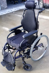 2018 Quickie Iris manual wheelchair with tilt function