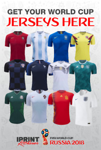 World Cup 2018 Jerseys *** iPrint Kitchener***