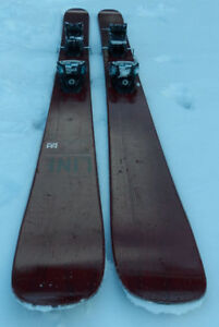 2015 Line Supernatural 108 Skis With Marker Griffon Bindings !!