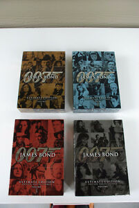 DVDs: James Bond 007 - The Ultimate Sets- Volume 1-3 (mint condi