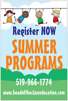 *NEW* Summer Programs @ Head of the Class