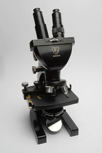 MICROSCOPE AO SPENCER BINOCULAR