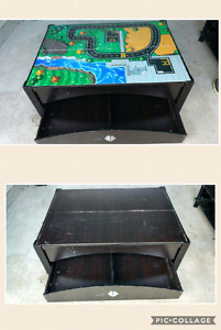 Toy Box Train Table