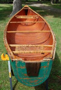 16 Foot Flatback Canoe
