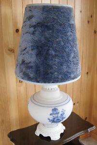 Lampe de table VINTAGE - Vintage Glass Table Lamp