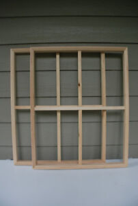 Stretcher Bars For Painter's Canvases - Assorted Sizes, 11 Left