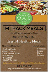 Healthy Macro Friendly Meal Prep! Student Packages! London Ontario image 1