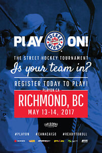 Volunteers and Refs needed for Play On! Richmond