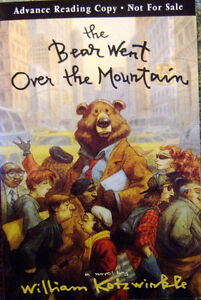 The Bear Went over the Mountain: W. Kotzwinkle ARC TPB