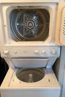 GE Spacemaker Laundry: Washer Dryer Combo