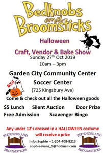 BedKnobs & BroomSticks Craft, Vendor & Bake Show