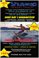WAKE SURF CAMPS & WAKE BOARD LESSONS