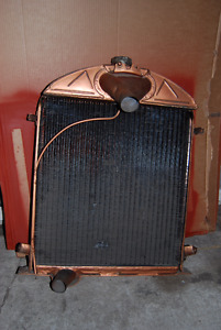 "Radiator for a 1929-31 Ford Model ""A"""
