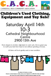 Children's Used Clothing, Toy & Equipment Sale