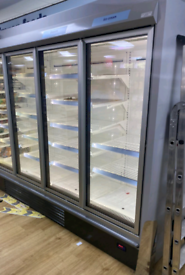 Commercial frozen foods remote freezer supply and fittings