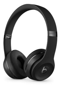 Beats By Dre Solo 3 Black Matte Edition with Receipt