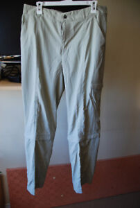 "Women's Columbia ""Omni-Shade"" Trail Pants, Size 12"
