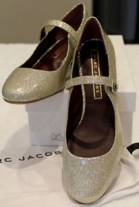 NEW Marc Jacobs Lexi Mary Jane Pump Diamond Sparkle US8.5