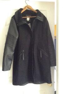 Manteau d'hiver noir neuf