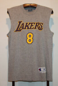 CHAMPION KOBE BRYANT LOS ANGELES LAKERS T-SHIRT JERSEY SIZE 40