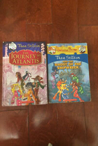 Geronimo Stilton (selling 2 books from collection)