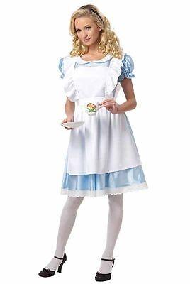 California Costumes Alice In Wonderland Adult Women Halloween Costume 01191](Alice In Wonderland Adult)