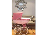 Pink Silvercross Pram £250 ono