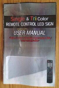 """2 Indoor/Outdoor 78"""" x 15"""" LED SIGN(S) - NEW!"""