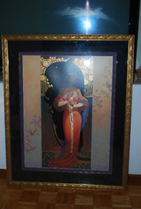 Beauty and the Beast numbered print by Thomas Blackshear II