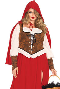 Adult Woodland Red Riding Hood Costume