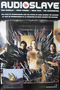 """Audioslave"" 2002 Two-Sided Promotional Poster"