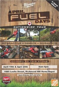MILWAUKEE 2-day April Fuels Day EVENTS
