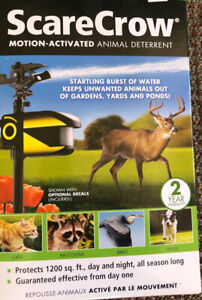 For Sale-ScareCrow Motion-Activated  animal deterrent